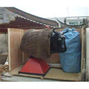 Inflatable mechanical bull,  buck