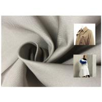 75D Twill Coated Polyester Fabric Imitation Memory Bright For Casual Wear