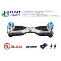 8 Inch Indoors Smart Balance Hoverboard with LED Lights New Modle White Color