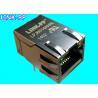 Quality JP009SX88X2XXXXX-024-G Magnetic RJ45 Jack LPJ6014AHNL 10 / 100Base-T With LEDs wholesale
