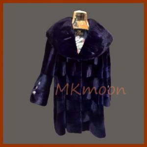 Best mink fur coat 250# wholesale