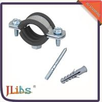 Quality Suspension Cast Iron Pipe Support Clamps With Electro Zinc Coated Surface wholesale