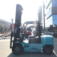Quality Isuzu Engine Diesel Forklift Truck With  High Technical Transmission Components wholesale