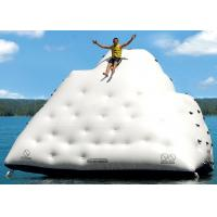 Quality 1 Side For Sliding And 3 Sides For Climbing Inflatable Iceberg For Water Sport Games wholesale