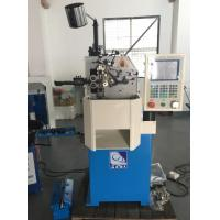 Two Axes Spring Coiling Machine 0.15 - 0.80mm With Servo Motor Controlled