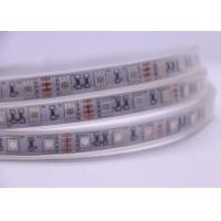 Waterproof IP67 Silicone Led Tube Strip Lights Bendable 5050 RGB 60LED/M 14.4W/M