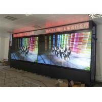 Buy cheap 55 Inch 6x3 Full HD Indoor LED Video Wall 800cd/M2 Brightness For Live TV from wholesalers