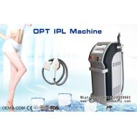 Quality Cooling SHR IPL Hair Removal Machine , Elight RF IPL Skin Rejuvenation Equipment wholesale