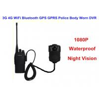 Cheap Wearable IP68 Law Enforcement Body Camera For Security Officers , ABS Material for sale