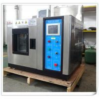 Buy cheap Touch Screen Cold Climatic Temperature Humidity Chamber , Benchtop Environmental Test Chamber from wholesalers