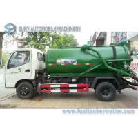 Best Foton Small 4x2 3m3 To 4m3 Sewage Suction Tanker Truck , Sewage Disposal drainage septic tank wholesale