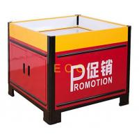 Quality Movable Metal Promotion Display Counter Store Supermarket Accessories L1000 * W1000 * H850 mm wholesale