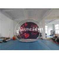 Quality PVC Tarpaulin Inflatable Bubble Show Ball Tent For Valentine's day / Christmas wholesale