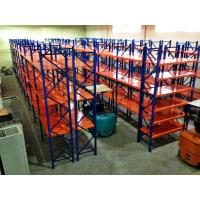 Powder Coated Ultima Longspan Shelving , Durable Metal Storage Racks