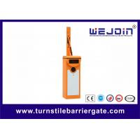 Best AC220V Barrier Gate With Steel Cabinet, Parking Management Systems With LED Screen wholesale