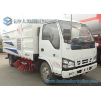 Buy cheap Isuzu 4000L 4000KG Dust Clear Road Sweeping Truck 4 X 2 88kw / 120hp from wholesalers