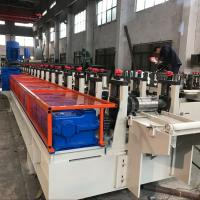Best Q235 Steel Shelving Rack Roll Forming Machine 18 Stations CE Certification wholesale