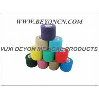 Best Latex - free Cohesive Hand Elastic Bandage , Self - adhesive Breathable Bandages wholesale