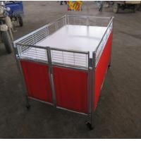 Quality Movable Supermarket Accessories Promotion Table Stand With Wheels For Retail Store wholesale