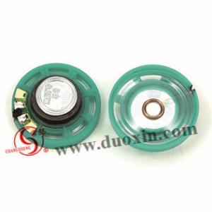Best 27mm plastic speaker DXP27W-A 8ohm 0.25W D27mm*H9.0mm micro mylar speaker wholesale