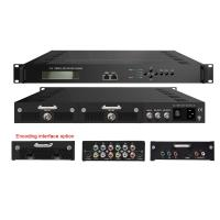 Quality 2 in 1 MEPG-2 H.264 HD Digital TV Encoder Input HDMI Output 2ASI or IP wholesale