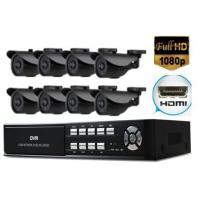 8ch D1 HDMI Video Recorders DVR 1/3 CMOS With 700TVL Higher Video Camera
