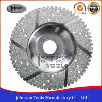 Customized Multi Holes Electroplated Diamond Blades For Profiling Stone
