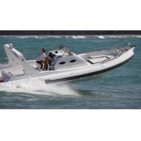 Best 9.6m Orca Hypalon Inflatable Rib Boat Rib960B  With Cabin Console / Large Sunbed wholesale