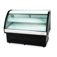 Buy cheap High Humidity Curved Glass Cake Display Cabinet (90cm-120cm) Countertop Food from wholesalers