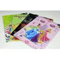 Quality Colorful UV Children Story Coloring Book Printing Service With Art Paper wholesale