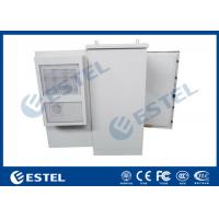 Quality 27U Air Conditioner Type Outdoor Communication Cabinets With One Front Door wholesale