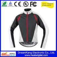 Quality Outdoor Polyester Pongee Heat Protection Motorcycle Rain Jacket wholesale