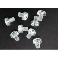 Quality Clear Plastic Phillips Round Head Metric Micro Screws For Electronics M3 X 5 wholesale