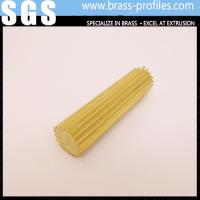 Quality Gear Section Brass Rod Sheet Shining Brass Rod C3800 for Decoration wholesale