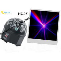 Quality VS-25 LED crystal magic ball disco lights 5W (white) R, G, B 9W ffects wholesale