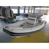 Best 22 Feet Black & Red Inflatable Rib Boat Rib 680 In Fiberglass Hull And Hypalon wholesale