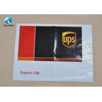 Quality Heavy Duty DHL EMS UPS Plastic Courier Bags with Custom Logo Printed wholesale
