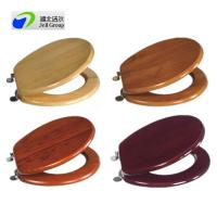 Direct manufacturer! solid wood sanitary seat cover with soft close/quick release hinges-European and US standard