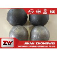 Cement plant use  forged and low chrome cast grinding ball/ steel grinding balls