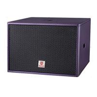 Best club subwoofer single 18'' 800W RMS purple color bass professional loudspeaker system power speaker box wholesale