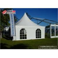 Water Proof Pagoda Party Tent With Wooden Flooring System OEM Avaliable