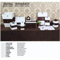 PVC lather desk sets in hotel and office