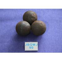 Mines Unbreakable Hot Rolled D90mm Grinding Balls For Mining , Steel Ball for Mine Dressing Plant