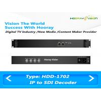 Quality Multi-functional  Digital TV Encoder and Decoder with Two ASI&IP input and two SDI&ASI Ouput wholesale