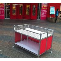 Quality Collapsible Garment Shop Promotional Desk / Retail Clothes Display Table For Store wholesale