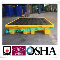 Quality Oil Tank Storage HDPE Spill Containment Pallets, Spill Pallet for 220L Oil Drum wholesale