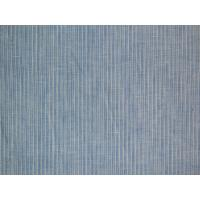 Quality Blue Stripe Cotton Linen Fabric , 100% Linen for Womens Fashion Clothing bs030 wholesale