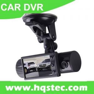 Car DVR Car Black Box with Dual Camera GPS Tracker 3D G-sensor and 2.7-inch Big LCD HQS -X2000