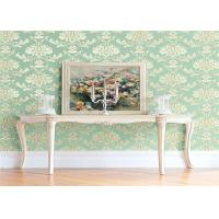 Quality High End Flower Feature Wall Wallpaper Fireproof With European Style wholesale