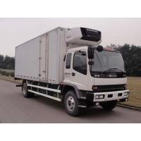 China good price ISUZU 4*2 LHD cold room truck for sale, factory sale best price Japan ISUZU 10tons refrigerated truck